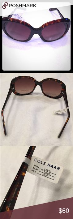 😎💚NWT Cole Haan Sunglasses 😎 Brand new Beauties! Authentic Cole Haan perfect condition. Cole Haan Accessories Sunglasses