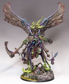 Mortarion Daemon Primarch of Nurgle and Death Guard