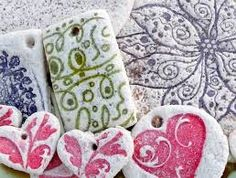salt dough crafts for adults - Google Search