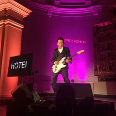 My first performance at V&A museum . ヴィクトリア&アルバート・ミュージアムでの初めてのパフォーマンス。満場の拍手、嬉しかった! #hotei #vamuseum #electricfashion #live #performance #party #fashion  #peterstitson #viviennewestwood