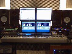 recording studio setup - Google Search