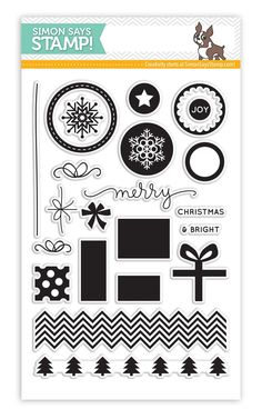 Simon Says Clear Stamps PRESENTS AND ORNAMENTS sss101441 zoom image