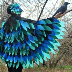 Halloween Bird Costume  by Mark Montano