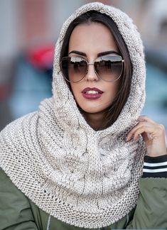 Снуд спицами для женщин: схемы вязания, новинки, узоры, размеры. Как связать красивый шарф снуд хомут, капюшон, трубу, с косами, ажурный спицами с описанием?