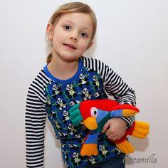 Tričko s raglánovým rukávem (fotonávod + střih) | Ekozahrada - Blog Petry Macháčkové / Caramilla