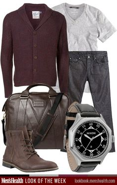 What do you think of our casual cool #LookoftheWeek? T-Shirt: H&M Sweater: Topman Jeans: J Brand Watch: Nixon Shoe: Steve Madden Bag: Marc by Marc Jacobs via Mr Porter