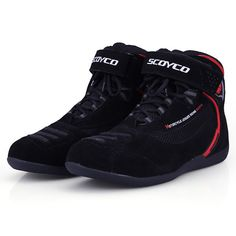 Racing Boots Motorcycle Riding Boots Shoes for SCOYCO MBT001