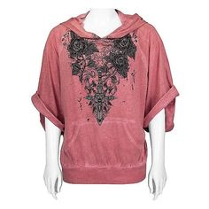 Crash & Burn Tiger Sweatshirt ($44) found on Polyvore