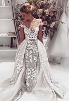 #luxurious wedding dresses #long wedding dresses #high quality wedding dresses…