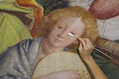 Saronno - Le immagini del restauro al Santuario - Guarda la galleria fotografica: http://www3.varesenews.it/gallerie/da-vicino-il-restauro-al-santuario-di-saronno-19132.html