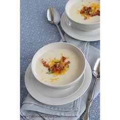 Baked Potato Soup #soup
