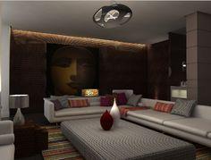 living room design , by Majdi Alkuzbari