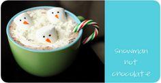 I love the marshmallow snowmen ideas
