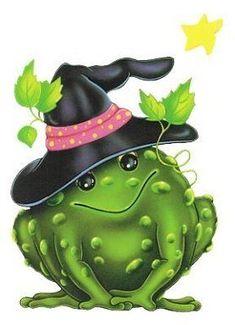 halloween frog clip art - Google Search