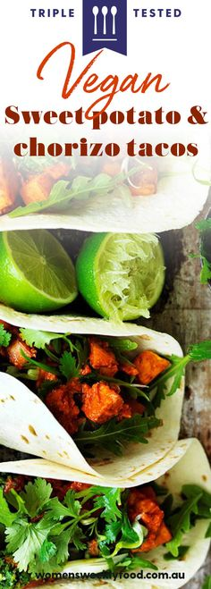 These fresh and flavoursome vegan soft tacos have all the smoky delicious flavour of chorizo but are meat-free. Quick and easy, they make the perfect vegetarian or vegan dinner. Easy Vegetarian Lunch, Vegetarian Recipes, Vegan Dinners, Lunches And Dinners, Chorizo Tacos, Soft Tacos, Vegan Tacos, A Food, Food Processor Recipes