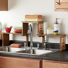 Mosaic Coffee Over-The-Sink Shelf from Seventh Avenue ®