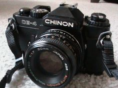 My very First ever film camera I bought and used this at a wedding at Bromsgrove Registrar I also bought a Chinon CP 7M while working in London as a back up camera for the next wedding I guess I was about 23 then