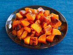 Maple Cinnamon Roasted Butternut Squash - Easy Vegan Fall Recipe