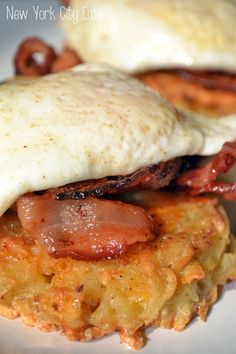 Bacon Egg Potato Pancakes