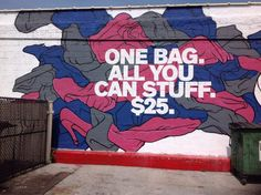 """Housing Works """"Buy The Bag"""" Thrift (NYC): 1 Bag of Clothes = $25!"""