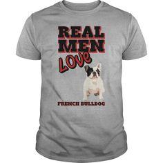 Real Men Love French Bulldog