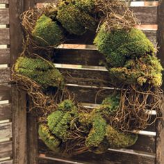 mossy wreath