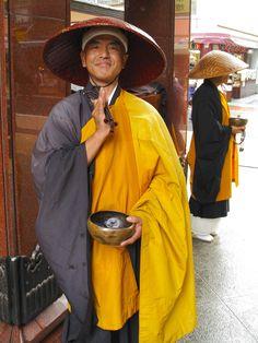 mendicant monks at Koganji temple (love his facial expression)