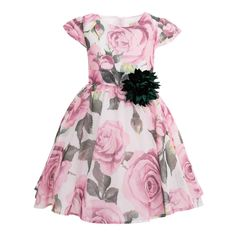 Explore our online store and have a look at this Rose flower dress, which is stunningly crafted to enhance the look of little girls! Get one for your doll now! Rose Dress, Flower Dresses, Made Clothing, Summer Dresses, Formal Dresses, Little Princess, Dress Making, Latest Trends