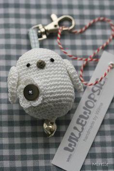 crochet birdie // Schlüsselanhänger // Idee