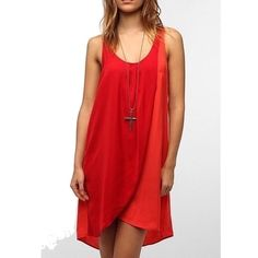 Red High Low Dress
