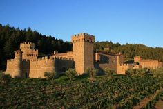 Castle Of Love - Castello di Amorosa Winery