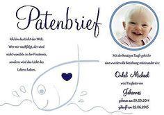 Taufe Patenbrief für die Taufpaten A4 Patenschein Urkunde Taufkerze Taufbrief