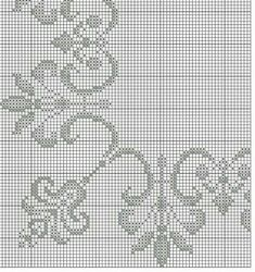 Embroidery Flowers Pattern, Cross Stitch Embroidery, Flower Patterns, Embroidery Designs, Cross Stitch Boarders, Cross Stitch Patterns, Stitch Doll, Decoration, Diy And Crafts