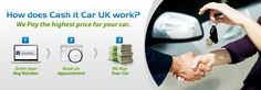 Sell your car with CashitCarUK & get guaranteed highest price in the UK! We buy any car fast & safely.30 sec car valuation.Cash on collect.Try us once!!