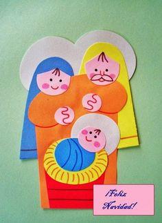Resultado de imagen de pesebres navideños infantiles manualidades