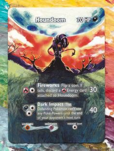 This Artist Turned Pokemon Cards Into Unique Pieces Of Art?