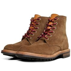 Tricker's x End Hunting Co. Low Leg Logger Boot (Cola Repello Suede)