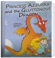 Official page of my #illustrated little story for #children from 2 up to 6 year about #Princess Azzurra and the #Dragon. Sometimes it's hard to give up things we love, but often sharing them with someone else means to have a bigger reward!