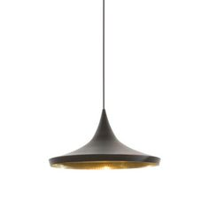 Tom Dixon - Beat Pendant Light - Wide - Black