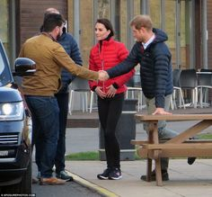 Feb 13, 2017 The Duchess joined Prince William and Prince Harry at St Mary's university to film a warm up and running for their mental health charity. After Daily Mail, 'They met with DIY SOS presenter Nick Knowles who is working with the royal trio on a new show for the BBC called Mind Over Marathon. The show, which will air in April, sees the presenter work with those with mental health issues to take part in the London marathon'