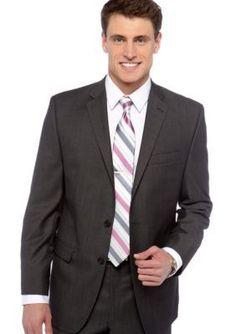 104e3020913f Calvin Klein Slim Fit Herringbone Suit Separate Coat