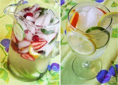 .: Receitas de águas aromatizadas – Como fazer águas aromatizadas