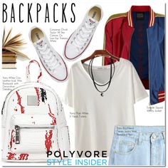 Rule School: Cool Backpacks by oshint on Polyvore featuring polyvore, fashion, style, Converse and clothing