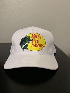 timeless design 96ecc ea5c6 Bass Pro Shops Hat Mesh SnapBack Trucker Fishing Outdoor Cap  fashion   clothing  shoes