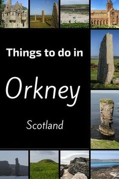 The Orkney Islands are located North of Scotland. They are home to many ancient sites including Stone Rings (Ring of Brodgar, Stenness), neolithic villages (Skara Brae) and chambered cairn. Nature is also well preserved with beautiful sea cliffs, white sand beaches and abundant birdlife. Discover the things to do in Orkney at http://www.zigzagonearth.com/things-to-do-in-orkney-scotland/