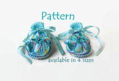 PATTERN Crochet baby slippers Crochet baby sandals by Danieland