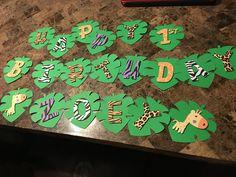 Items similar to Jungle Birthday Party Decorations on Etsy Jungle Party Decorations, Jungle Theme Parties, Jungle Theme Birthday, Safari Birthday Party, Animal Birthday, 2nd Birthday Parties, Birthday Decorations, Jungle Theme Food, Safari Theme