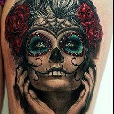 Day Of The Dead Tattoo  Tattoos