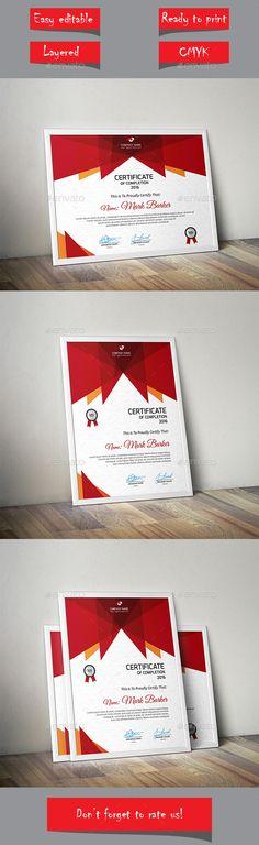 Certificate Template Vector EPS. Download here: http://graphicriver.net/item/certificate/14327904?ref=ksioks