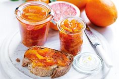 Pair your morning toast with this homemade marmalade made with fresh oranges, mandarins and grapefruit.